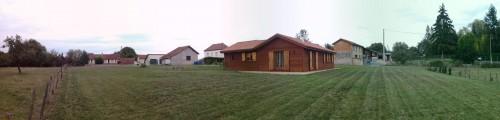 maison ossature bois randan puy de dome annonce maison. Black Bedroom Furniture Sets. Home Design Ideas