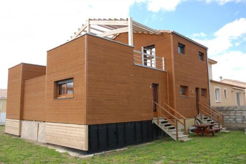 belle maison ossature bois neuve annonce maison. Black Bedroom Furniture Sets. Home Design Ideas