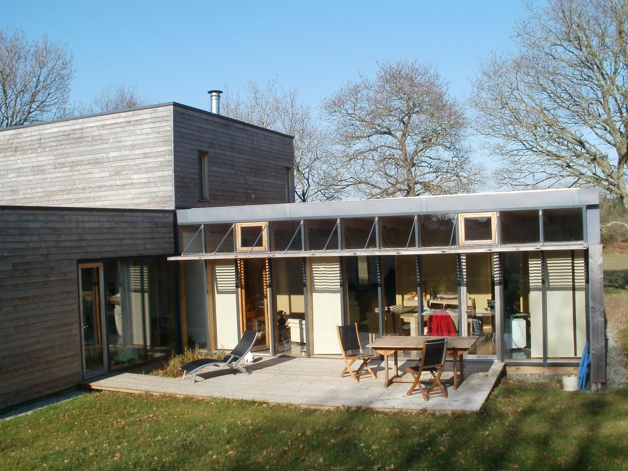 Maison ossature bois annonce maison part 5 for Achat part maison