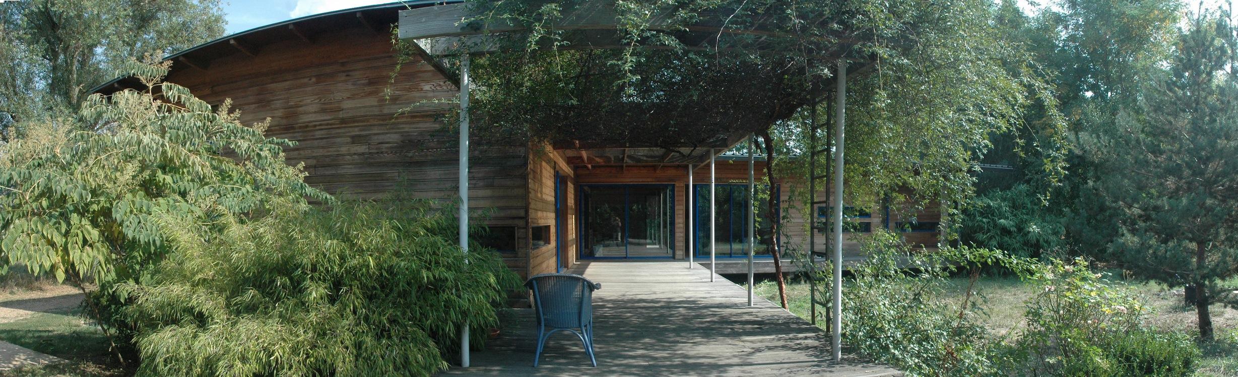 A vendre maison en bois