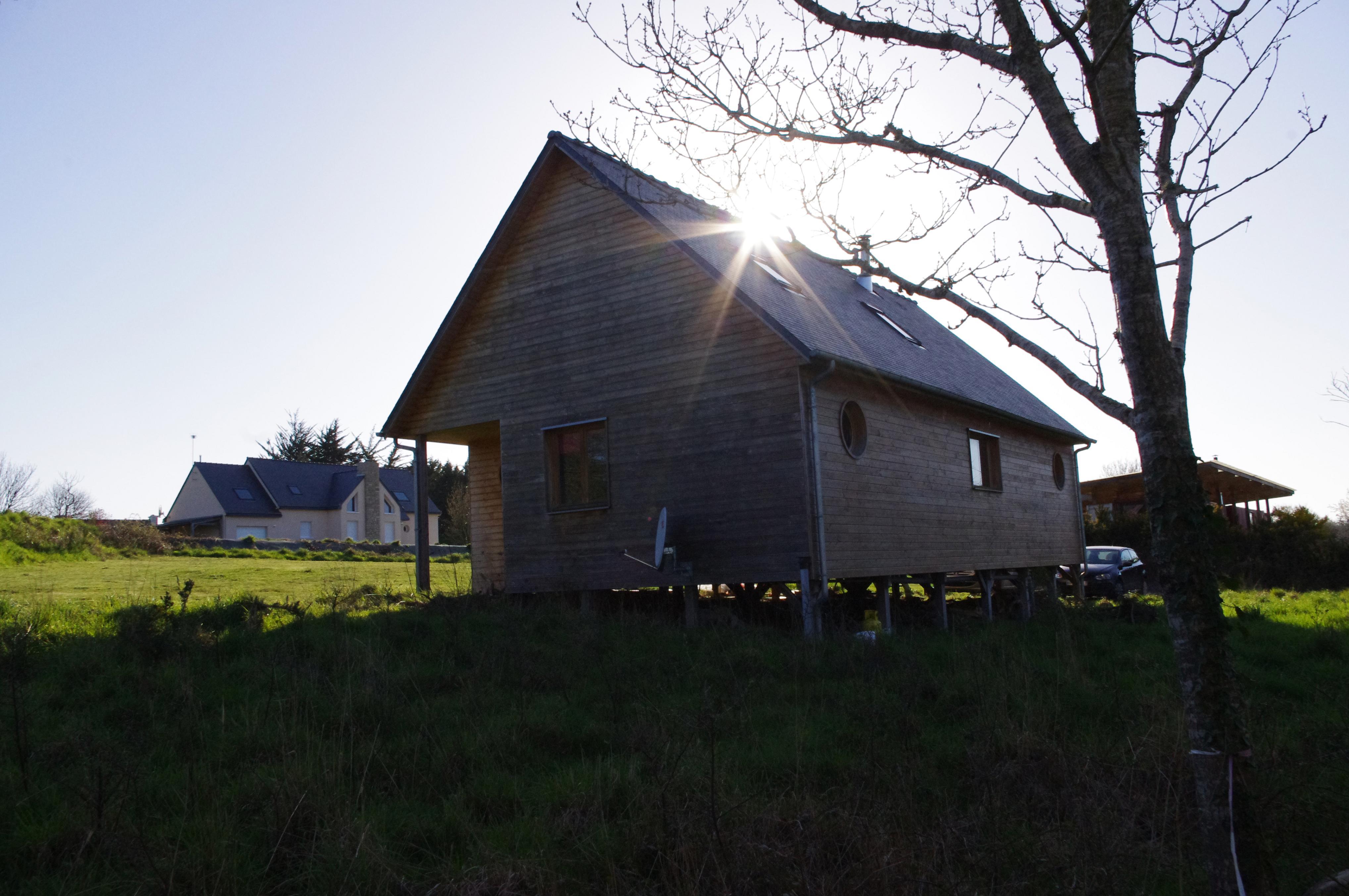 Maison bois bardage Douglas