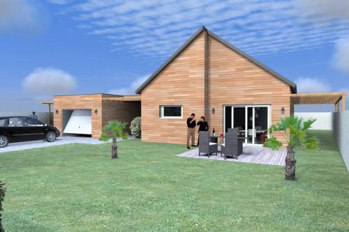 Maison en bois RT2012