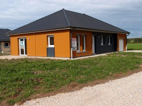 Maison ossature bois plain pied neuve annonce maison for Maison bois plain pied