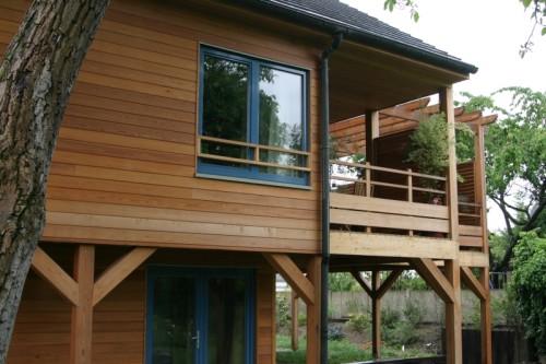 Maison ossature bois à Bry sur Marne