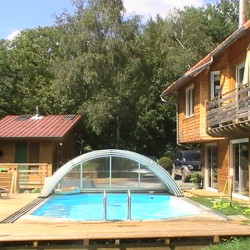 Maison bois vall e de chevreuse 91 for Chevreuse piscine