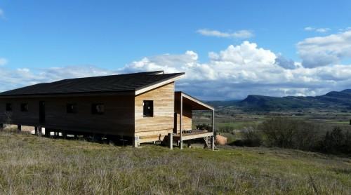 maison d 39 architecte en bois contemporaine annonce maison. Black Bedroom Furniture Sets. Home Design Ideas