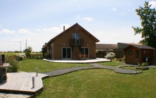 belle maison ossature bois de plus 170 m2