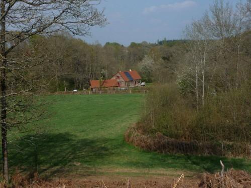 maison ossature bois bioclimatique