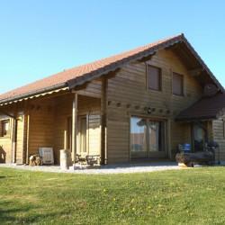 Maison ossature bois cologique centre ville cran gevrier - Probleme maison ossature bois ...
