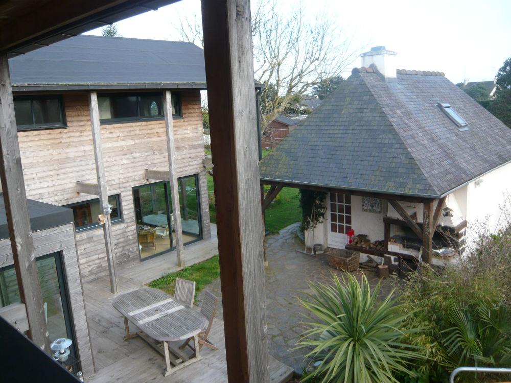 Belle maison bois BBC de 135 m2 en bord de mer