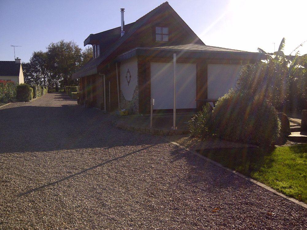 vente maison bois massif