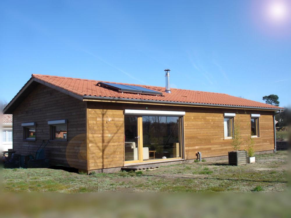 Maison neuve bois fabulous maison neuve uac with maison - Maison neuve en bois ...