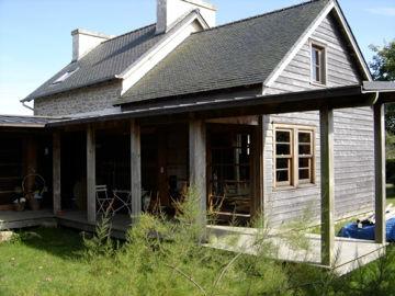 Vente maison bois chanvre et chaux bord de mer bretagne - Maison bord de mer bretagne ...