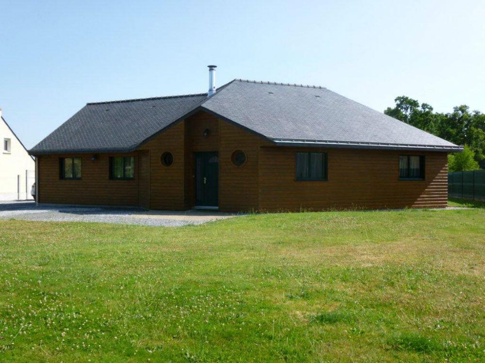 Maison ossature bois Moderne 124m2