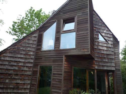 maison d architecte bois cedre rouge rare annonce maison. Black Bedroom Furniture Sets. Home Design Ideas