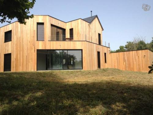 Maison d architecte ossature bois for Architecte maison bois