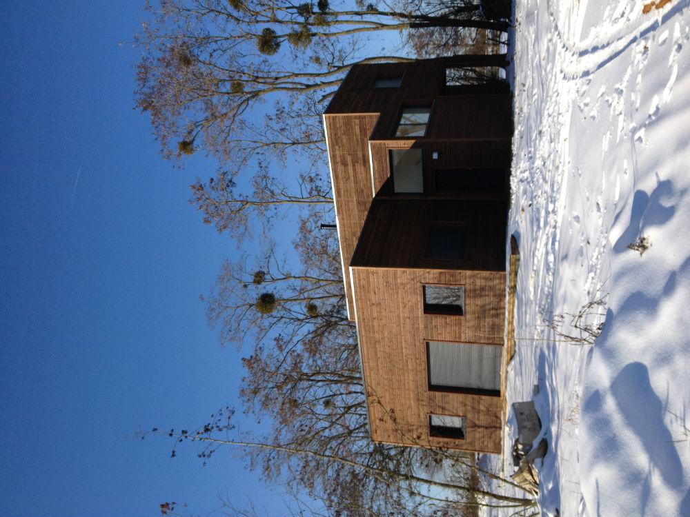 maison (2Maison ossature bois moderne
