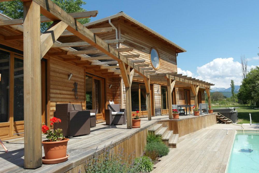 vente maison ossature bois
