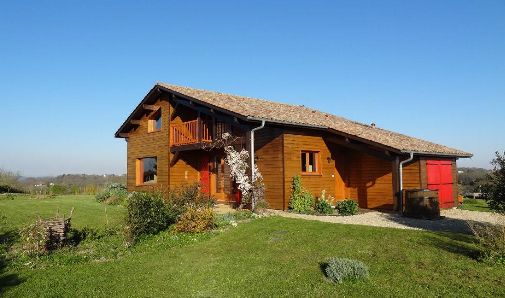 maison bois Landes