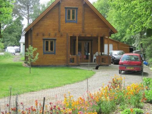 Vend maison bois massif