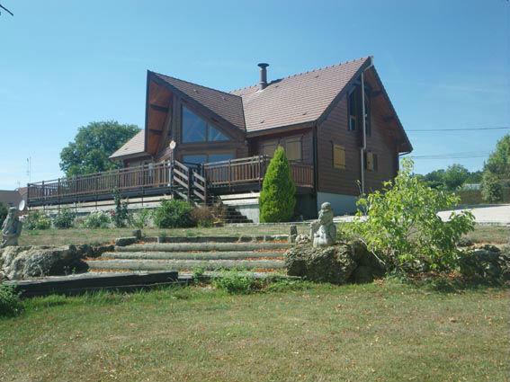 maison bois massif