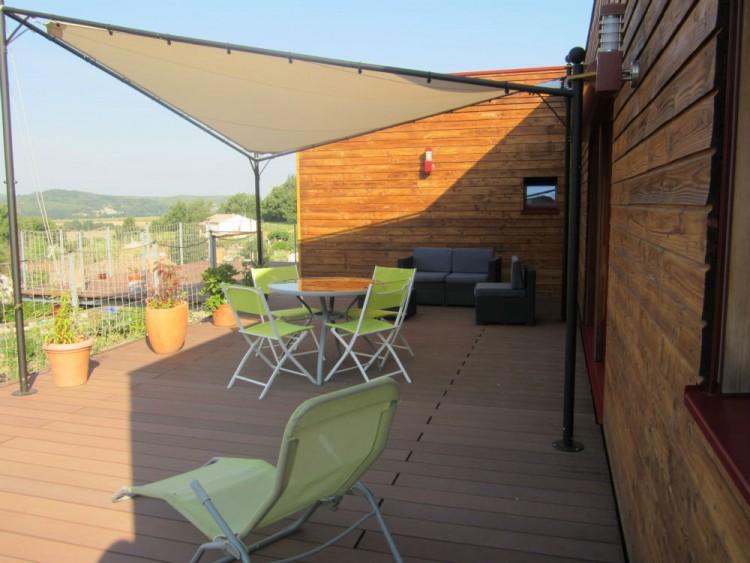 villa architecte contemporaine bioclimatique bbc annonce maison. Black Bedroom Furniture Sets. Home Design Ideas