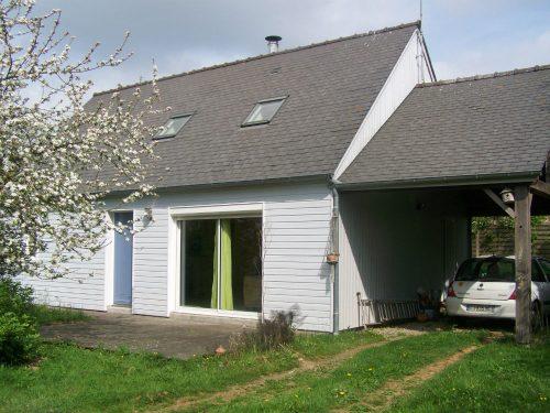 facade et carport